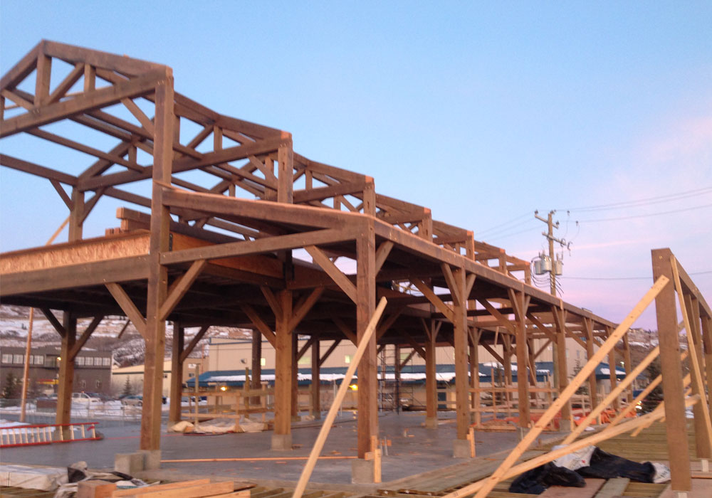 timber frame contractor calgary