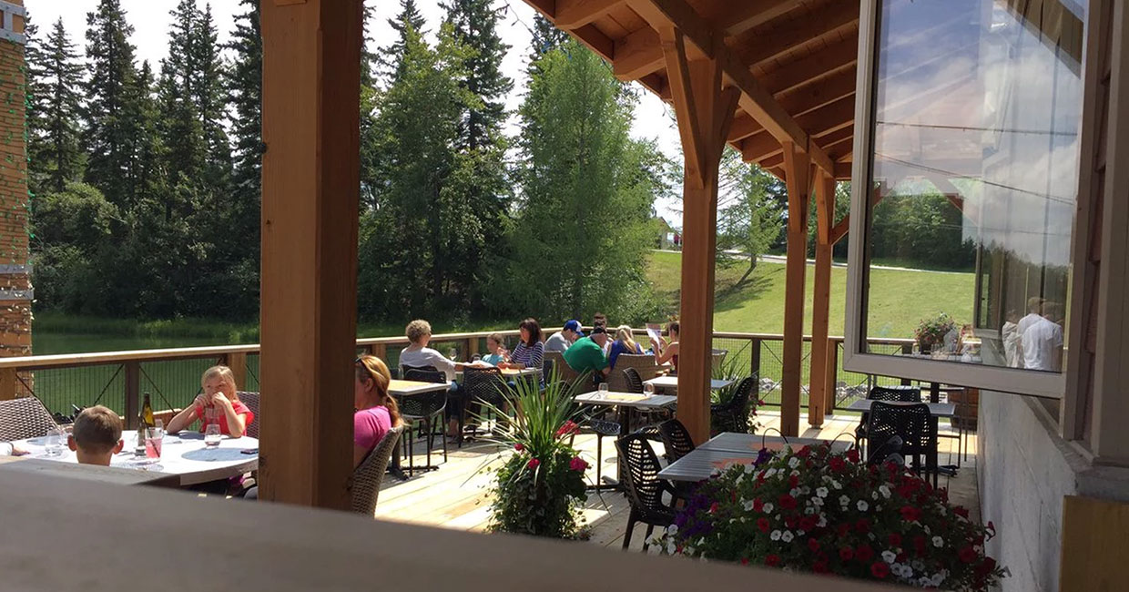 bowness park calgary timberframe restaurant