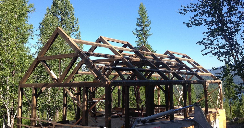montana usa timber frame home builder