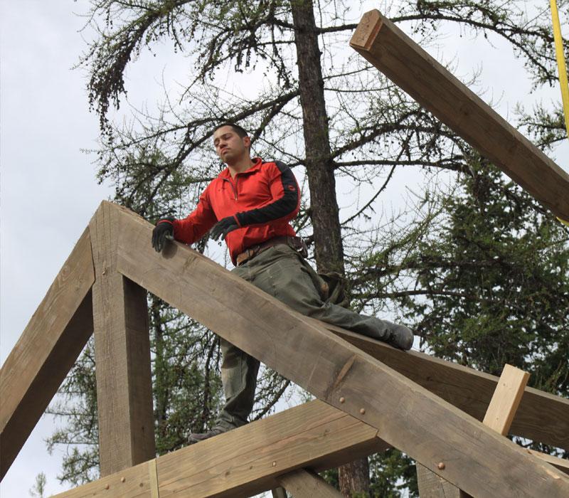 best timber frame home builder alberta