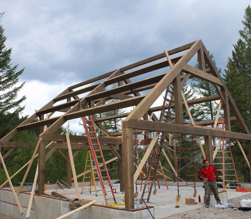 timberframe barn