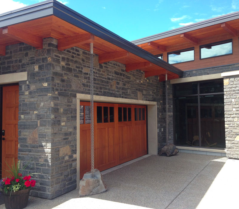 modern timber frame construction calgary