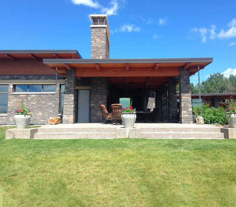 calgary timberframe home builder