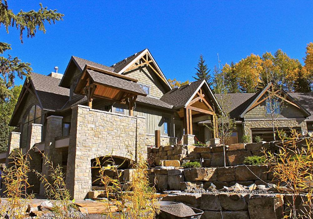 calgary alberta log home builder