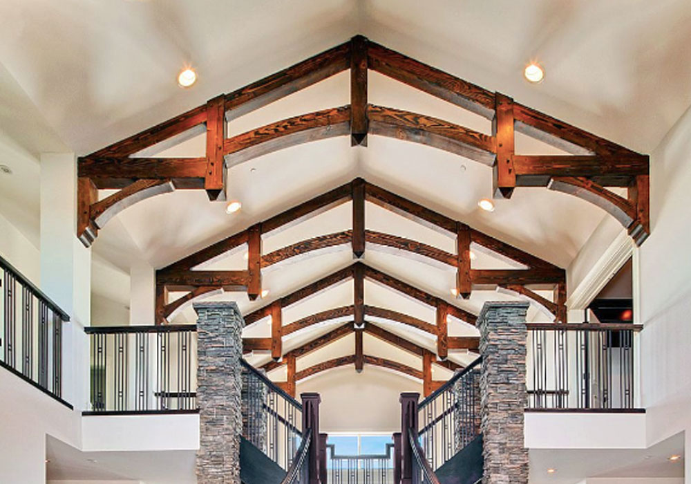 post and beam home builder alberta
