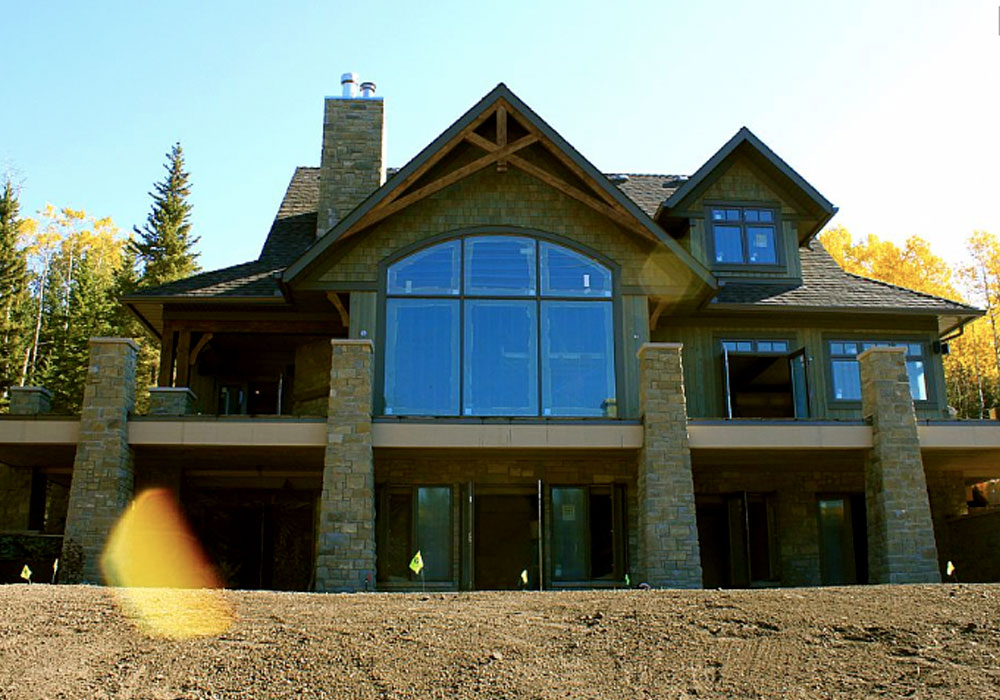 timber frames construction alberta